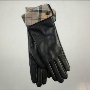 Barbour Women's Lady Jane Leather Gloves Medium
